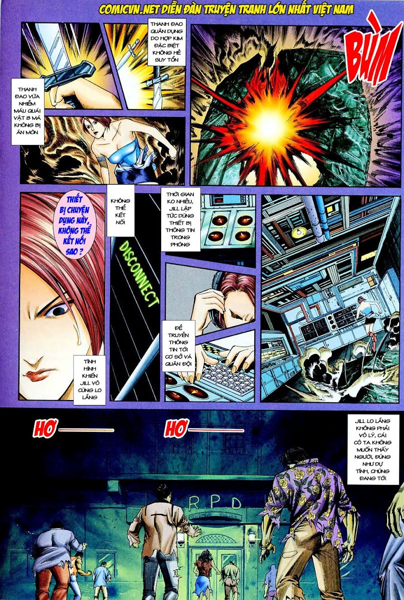 Resident Evil 3 chap 4 - Trang 30