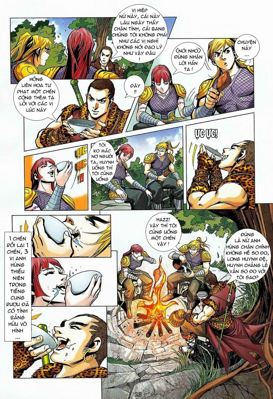 Thần Chưởng Long Cửu Châu chap 8 - Trang 23
