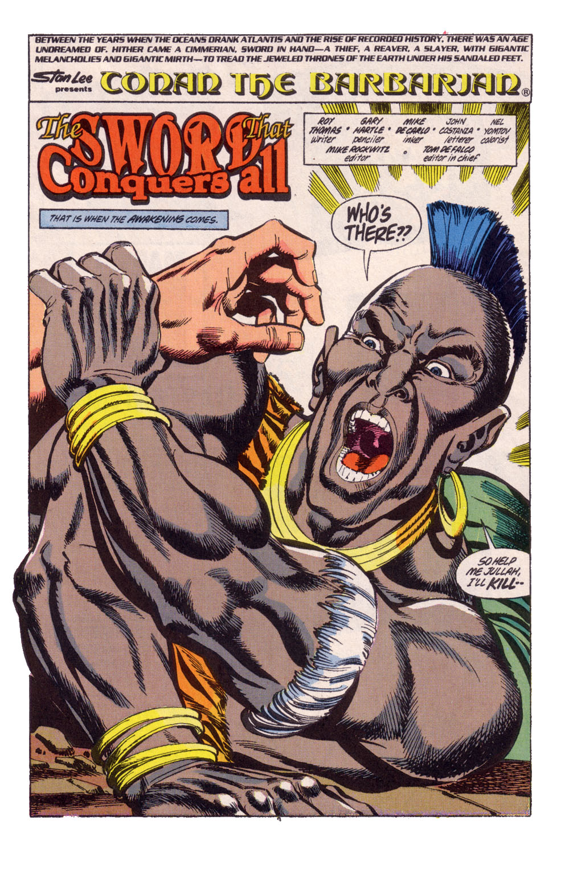 Conan the Barbarian (1970) Issue #247 #259 - English 8