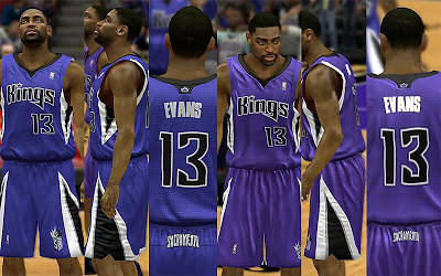 NBA 2K13 Sacramento Kings Away Jersey Patch