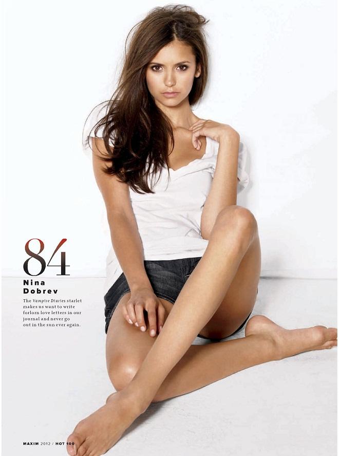 NINA DOBREV - Maxim Hot 100