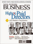 MALAYSIAN BUSINESS AUG 16th ISSUE OF 2014 NOW ON SALE