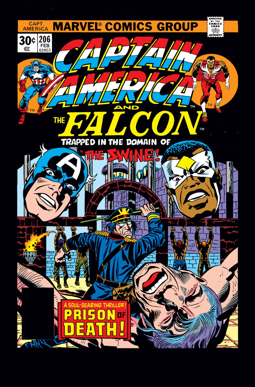Captain America (1968) Issue #206 #120 - English 1