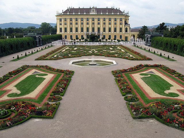 Palacio Schnbrunn en Viena