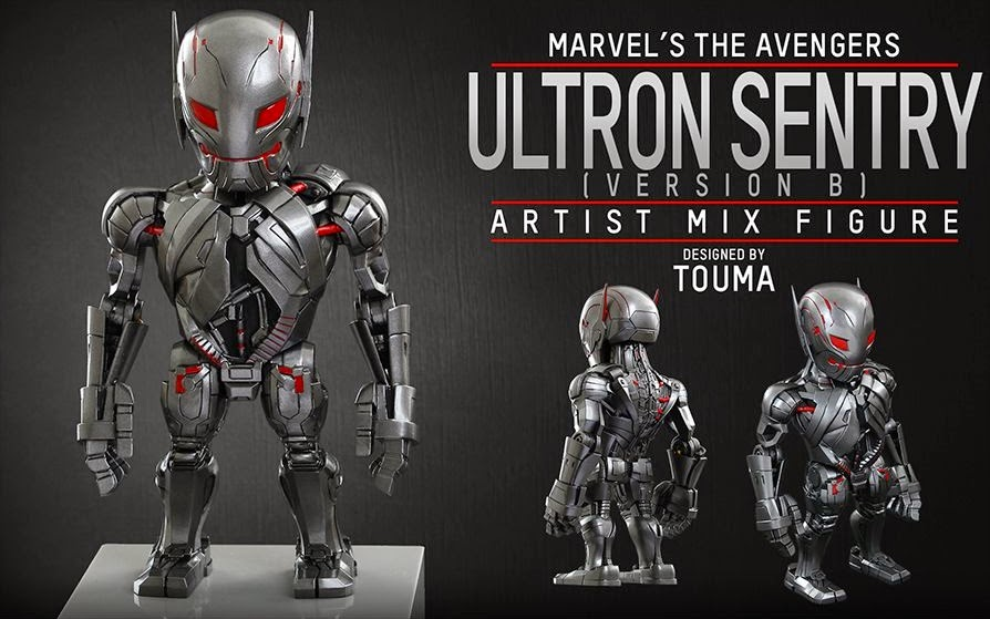 Marvel's Avengers Age of Ultron Artist Mix Figures Series 1 by Touma & Hot Toys - Ultron Sentry Version B