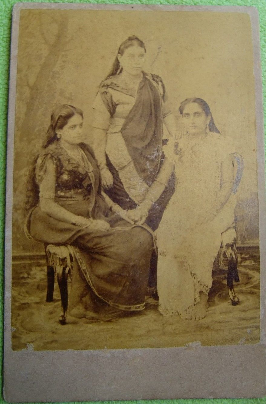 Group Photograph of Three Bengali Women