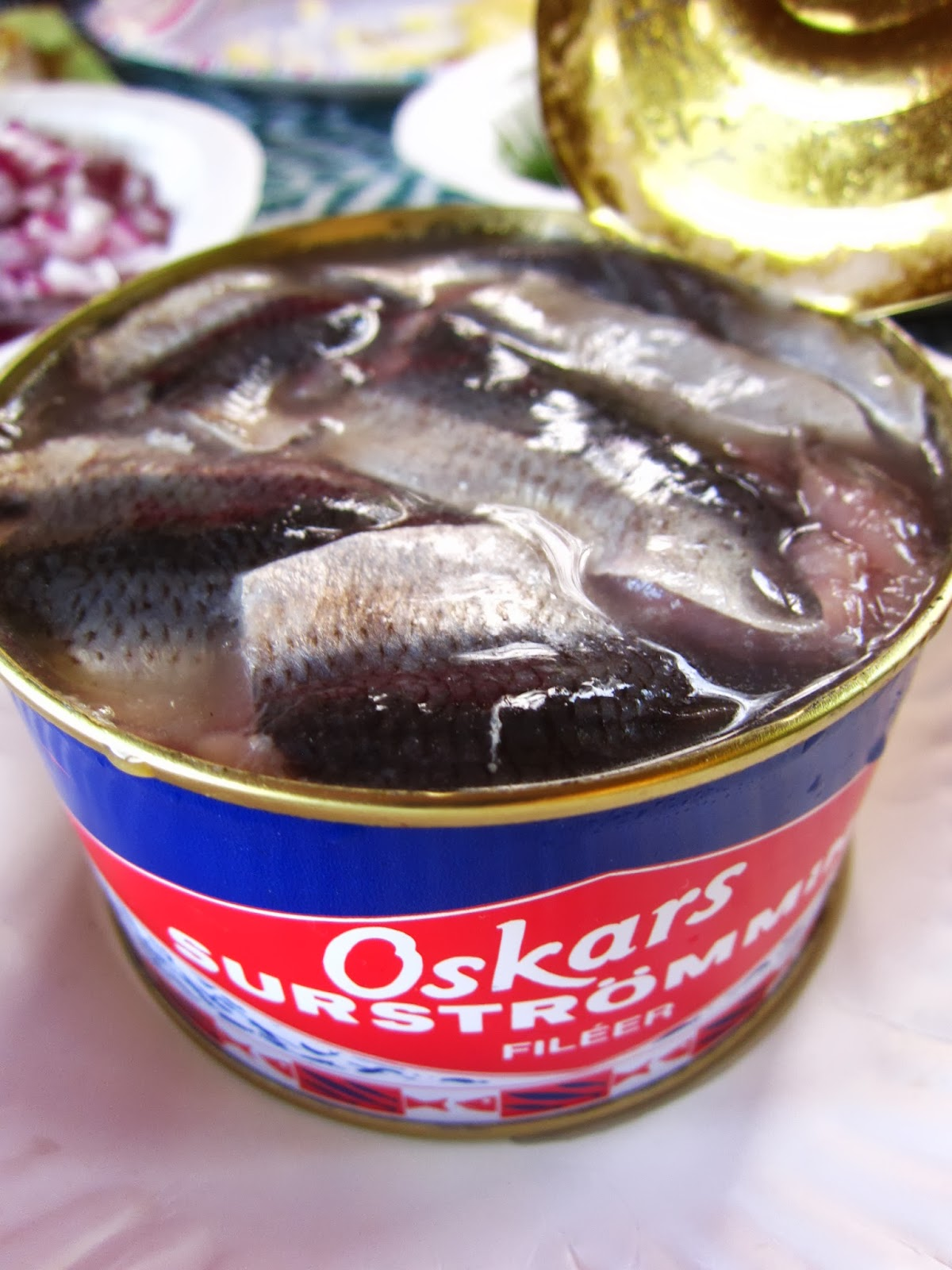 Where is darren now the putrid swedish food that explodes for Swedish fermented fish