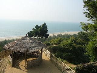 Himchari beach, Cox'sbazar