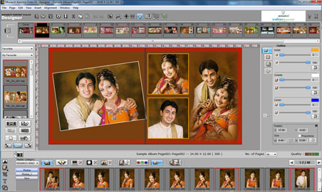 Karizma Wedding Album Software