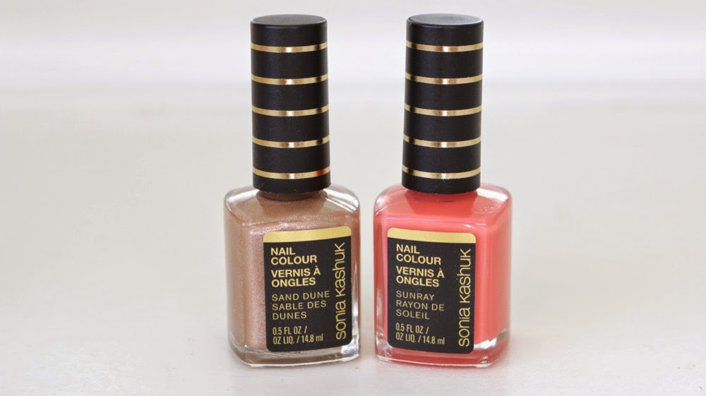 Sonia Kashuk Sahara Sunset Nail Polish Swatches