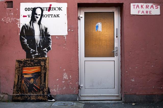 Norwegian Street Artist Dot Dot Dot Paints Several New Murals In Bodø, Norway. 3
