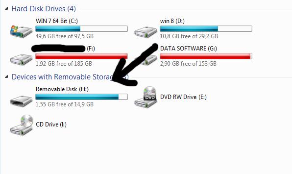 Mengatasi Memory Minta format (Flashdisk, SD card) tanpa software ...