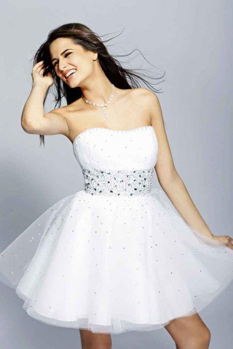 Vestidos blancos para chicas