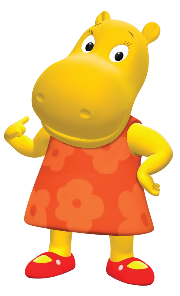 Little Backyardigans : Cartoon Characters The Backyardigans