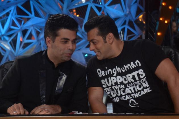 Salman Khan, Karan Johar on 'Jhalak Dikhhla Jaa 5'
