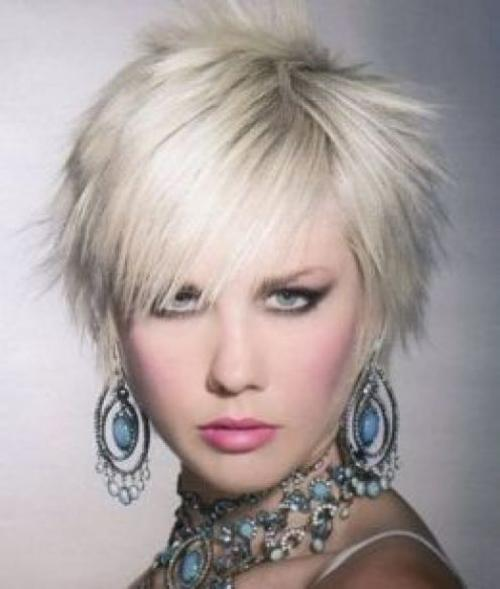 Trendy For Short Hairstyles: Short Spiky Hairstyles for Women
