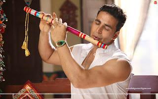 OMG Oh My God HD Wallpaper Akshay Kumar as Lord Krishna