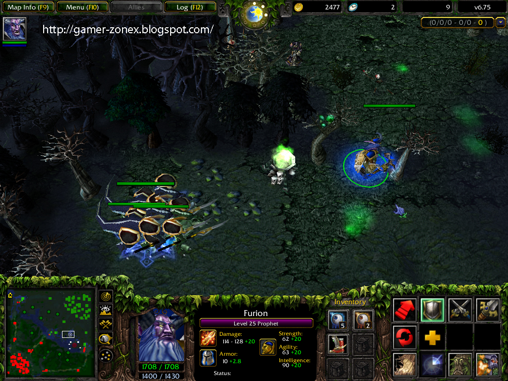 Download Map Dota Beta Leak Zone Game