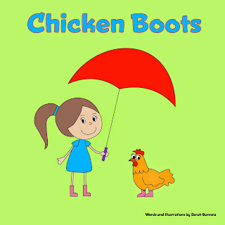 "Buy my first book ""CHICKEN BOOTS"" on Amazon today!"