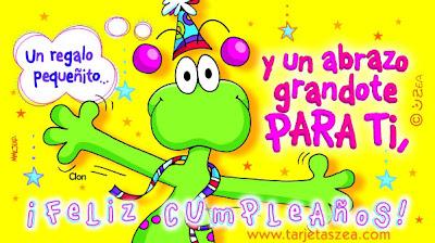 Frases Para Cumpleaños: Un Regalo Pequeñito y Un Abrazo Grandote