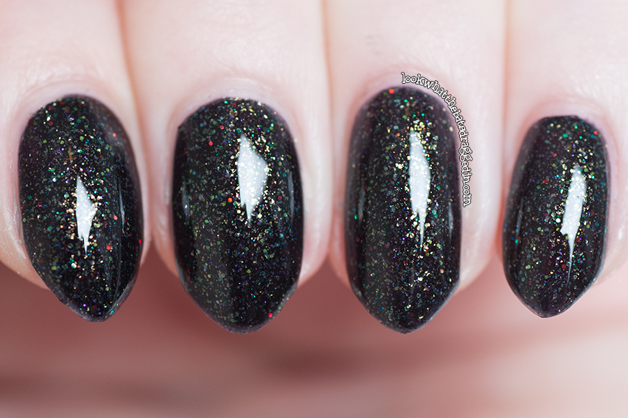 Swatch and review of Mckfresh Nail Attire Goosebumps nail polish collection Camp Nightmare