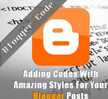 How to add HTML Code Box in blogger posts