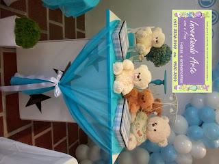 festa decoração chá de bebê