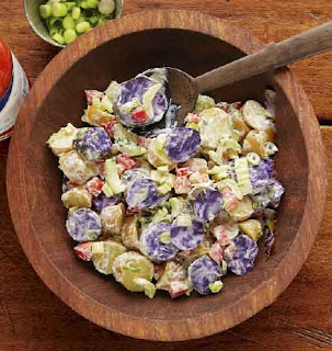 "Fingerling Potato Salad With Wisconsin Quark ""Ranch"" Dressing"