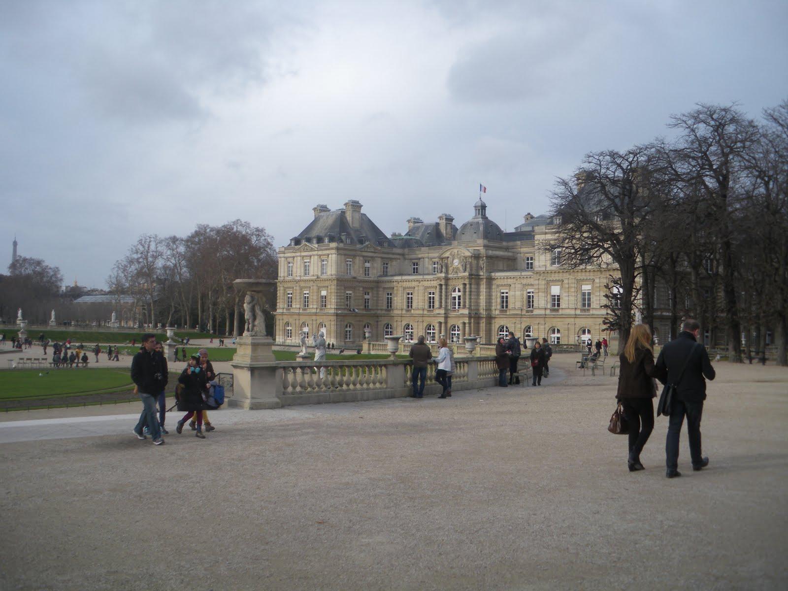 The Continentalist A Continentalist in Paris Jardin du