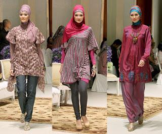 Model Baju Baju Batik Muslim Buat Wanita