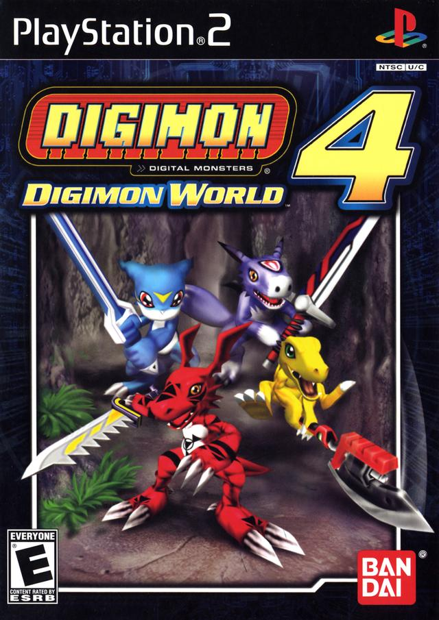[PS2] Digimon world 4  download