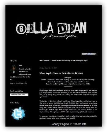 [Blog Baru] Story of Bella Dean dan Budak Tiut Punya Story