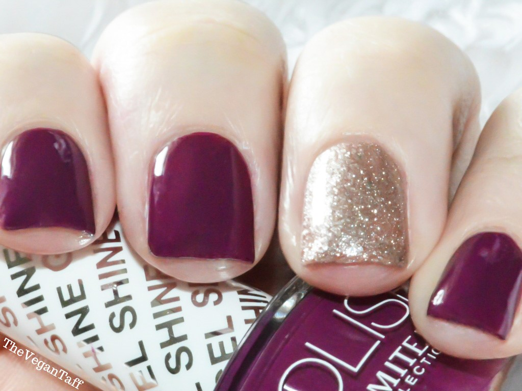 Manicure Monday | Limited Collection - Plum | The Vegan Taff
