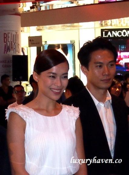 mediacorp celebrities qi yu wu rebecca lim