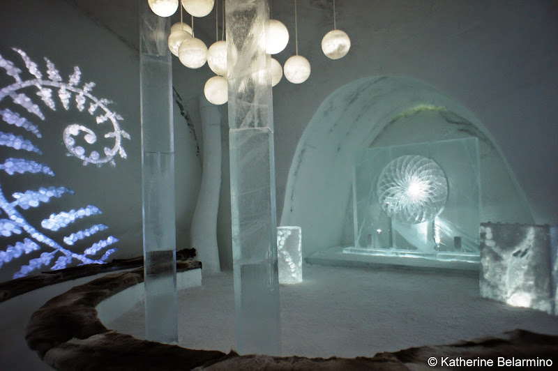 ICEHOTEL Ice Church In The Glade Sweden