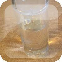 Experimento para niños magia vaso con agua
