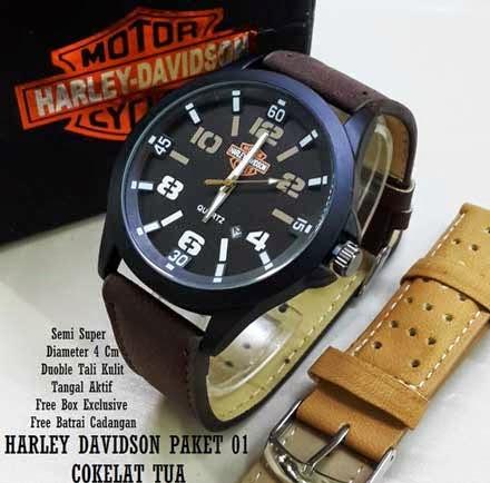 Harley Davidson Paket 01 Coklat Tua