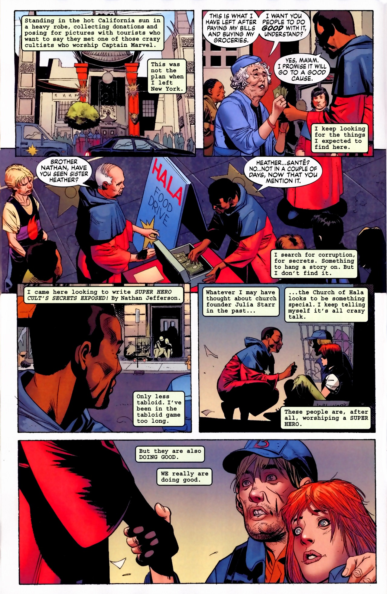 Read online Secret Invasion: The Infiltration comic -  Issue #5 - 10