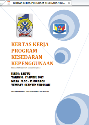 objektif program projek kertas kerja sekolahsekolah malaysia amsyahril