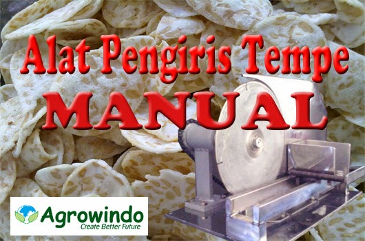alat pengiris tempe manual