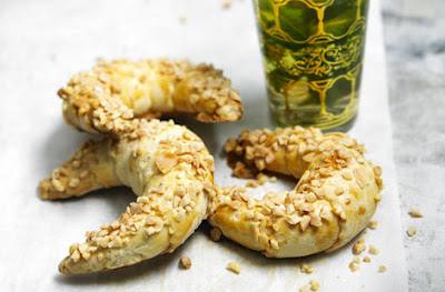 Almond Pastries With Mint Tea Recipe