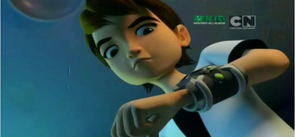 Screen Shot Of Hollywood Movie Ben 10: Destroy All Aliens (2012) In Hindi English Full Movie Free Download And Watch Online at worldfree4u.com