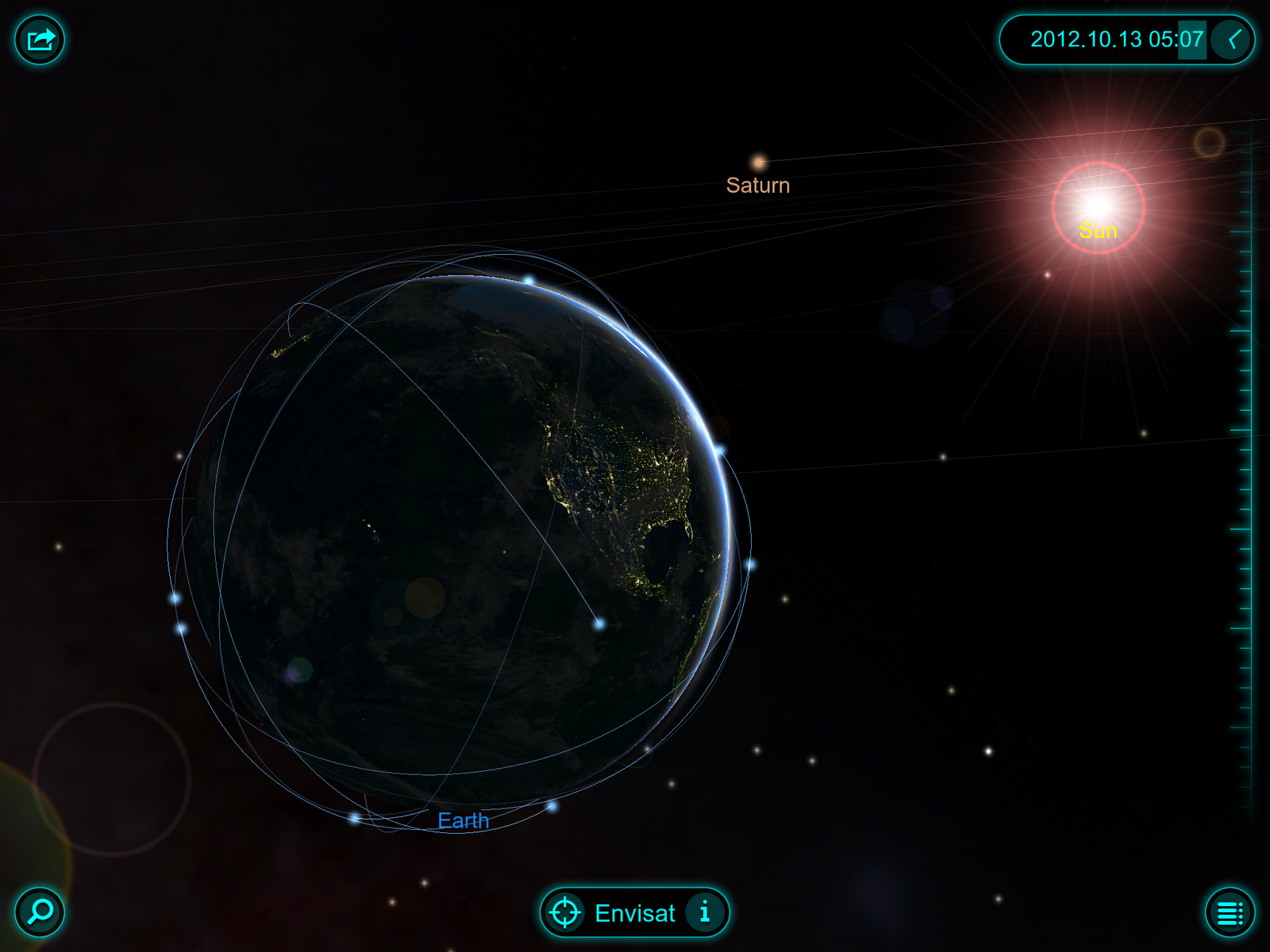 solar system orbits 3d - photo #8
