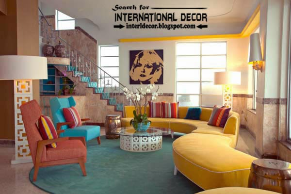 tips to creating retro interior design style, unique interior design