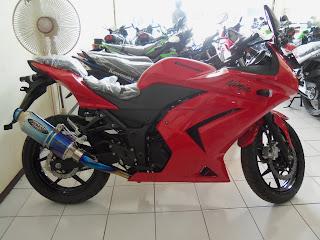 ninja 250 red