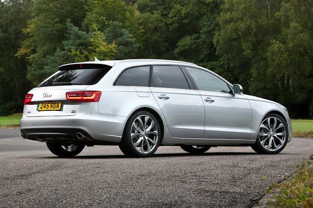 2012 Audi A6 Avant Back Exterior