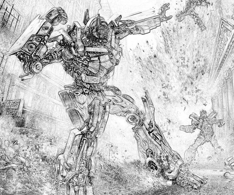 transformer gears coloring pages - photo#46