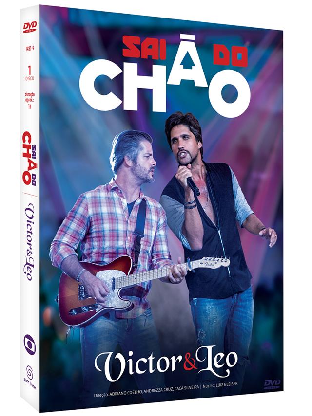 'Sai do Chão' apresentado por Victor e Leo vira DVD
