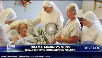http://video.foxnews.com/v/3007386064001/catholic-nuns-forced-to-comply-with-contraception-rule/