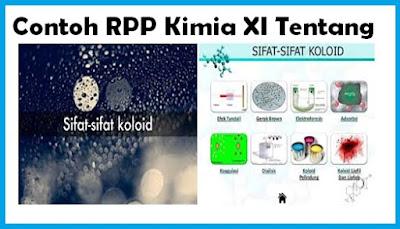 Contoh RPP Kimia Kelas XI Tentang Sifat-sifat Koloid